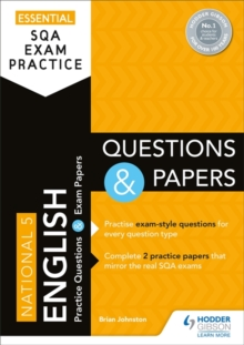 Essential SQA Exam Practice: National 5 English Questions and Papers, Paperback / softback Book