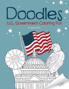 Doodles U.S. Government Coloring Fun, Paperback Book