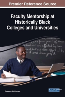 Faculty Mentorship at Historically Black Colleges and Universities, Hardback Book