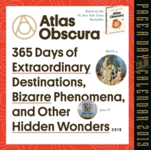 2019 Atlas Obscura Colour Page-A-Day Calendar, Calendar Book