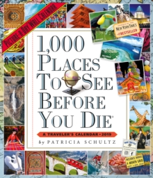 2019 1000 Places to See Before You Die Picture-A-Day Wall Calendar, Calendar Book
