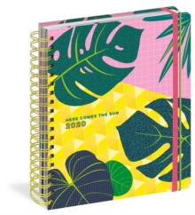Here Comes the Sun 17-Month Large Planner 2020, Calendar Book