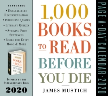 2020 1,000 Books to Read Before You Die Page-A-Day Calendar, Calendar Book