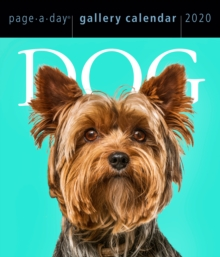 2020 Dog Page-A-Day Gallery Calendar, Calendar Book