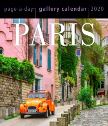 2020 Paris Page-A-Day Gallery Calendar, Calendar Book