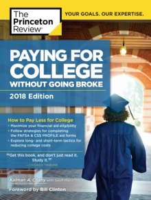 Paying for College Without Going Broke, 2018 Edition : How to Pay Less for College, EPUB eBook