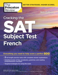 Cracking the SAT Subject Test in French, 16th Edition, EPUB eBook