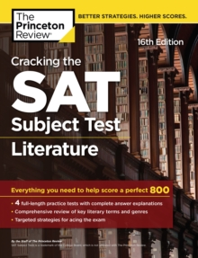 Cracking the SAT Subject Test in Literature, 16th Edition, EPUB eBook