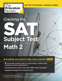 Cracking the SAT Subject Test in Math 2, 2nd Edition, EPUB eBook