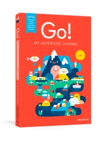 Go! Red : A Kids' Interactive Travel Diary and Journal, Diary Book