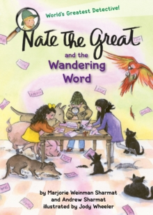 Nate the Great and the Wandering Word, Hardback Book