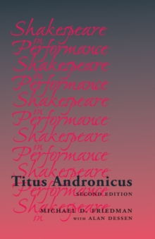 Titus Andronicus, Paperback / softback Book