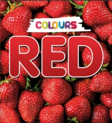 Colours: Red, Hardback Book