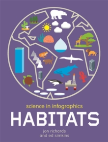 Science in Infographics: Habitats, Hardback Book