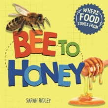Where Food Comes From: Bee to Honey, Hardback Book