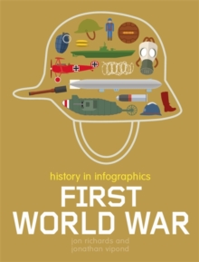 History in Infographics: First World War, Hardback Book