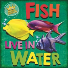 In the Animal Kingdom: Fish Live in Water, Hardback Book