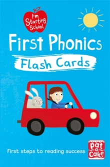 I'm Starting School: First Phonics Flash Cards : Essential flash cards for all English phonics sounds, Cards Book