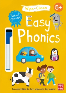 School Success: Easy Phonics : Wipe-clean book with pen, Paperback / softback Book