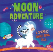 Finger Trail Tales: Moon Adventure, Board book Book