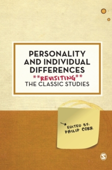 Personality and Individual Differences : Revisiting the Classic Studies, Hardback Book
