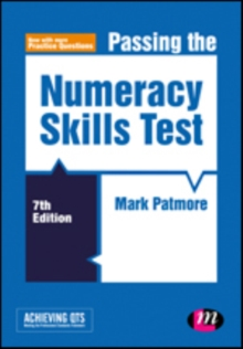 Passing the Numeracy Skills Test, Hardback Book