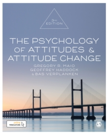 The Psychology of Attitudes and Attitude Change, Hardback Book