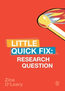 Research Question : Little Quick Fix, Paperback / softback Book