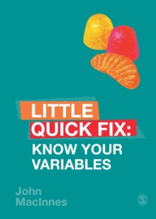 Know Your Variables : Little Quick Fix, Paperback / softback Book