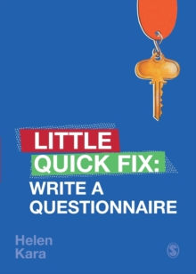 Write a Questionnaire : Little Quick Fix, Paperback / softback Book