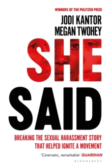 She Said : The New York Times Bestseller, Hardback Book