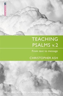 Teaching Psalms Vol. 2 : From Text to Message, Paperback / softback Book