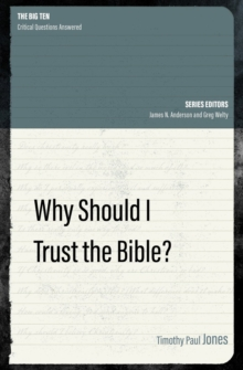 Why Should I Trust the Bible?, Paperback / softback Book