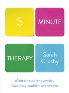 Five Minute Therapy, Hardback Book