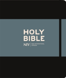 NIV JOURNALLING BLACK HARDBACK BIBLE, Hardback Book