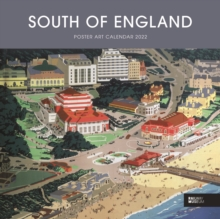 South Of England Poster Art National Railway Museum Square Wiro Wall Calendar 2022 9781529815085 Hive Co Uk