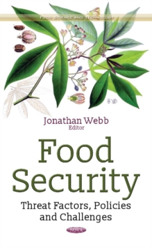 Food Security : Threat Factors, Policies & Challenges, Hardback Book