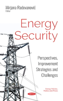 Energy Security : Perspectives, Improvement Strategies and Challenges, Hardback Book