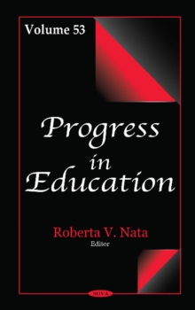 Progress in Education. Volume 53, Hardback Book