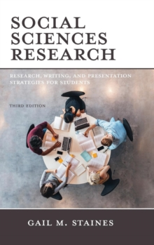 Social Sciences Research : Research, Writing, and Presentation Strategies for Students, Hardback Book