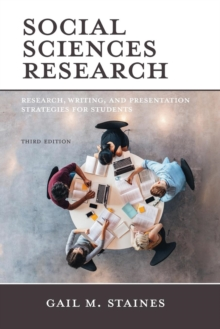 Social Sciences Research : Research, Writing, and Presentation Strategies for Students, Paperback / softback Book