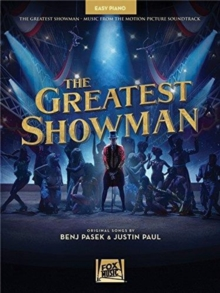 The Greatest Showman : Easy Piano, Paperback / softback Book