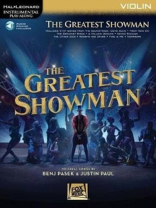 Instrumental Play-Along : The Greatest Showman - Violin (Book/Online Audio), Paperback / softback Book