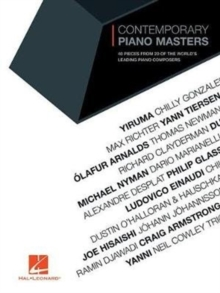 CONTEMPORARY PIANO MASTERS, Paperback Book