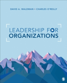 Leadership for Organizations, Paperback / softback Book