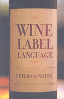 Wine Label Language, Paperback Book