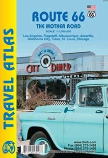 Route 66 the Mother Road Atlas, Paperback / softback Book