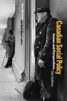 Canadian Social Policy : Issues and Perspectives, Paperback Book