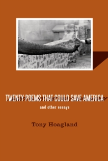 Twenty Poems That Could Save America And Other Essays, Paperback / softback Book
