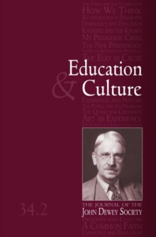 Education and Culture 34-2, Paperback / softback Book